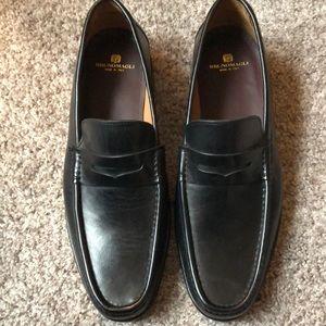 Black Italian Loafers